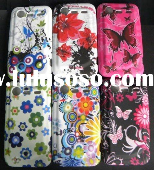 For HTC S710E Flower Design TPU Phone Case Cover in 2011