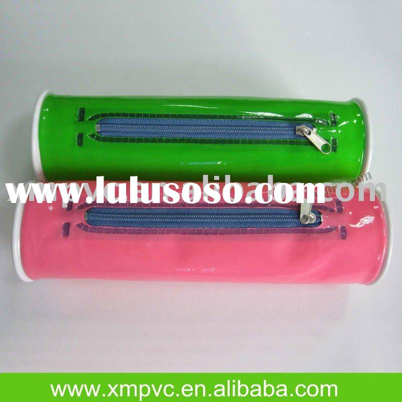 Green/Red PVC Pencil pouch XYL-D-S067