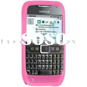 Hot Pink Silicon Case for NOKIA E71