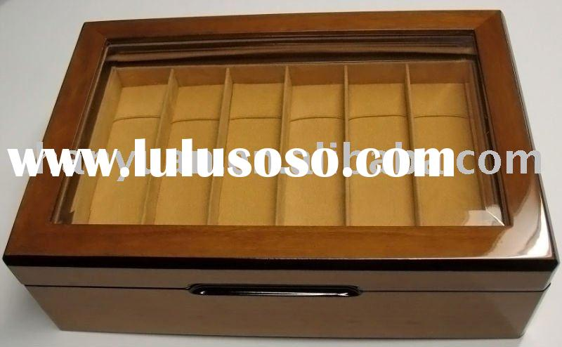 Luxurious wooden jewelry case