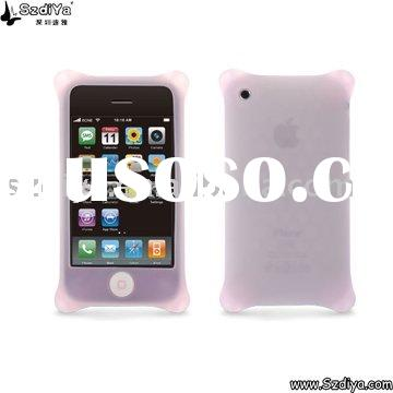 Pink Bling Silicone Case for Iphone 4G
