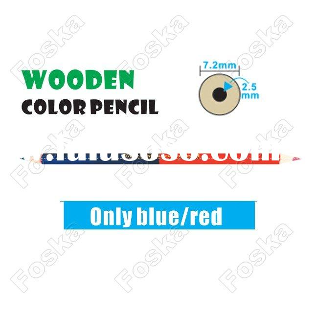 Round Wooden Color Pencil