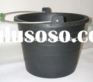 Rubber bucket for cement /Construction tool