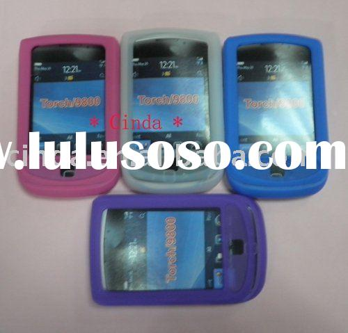 Silicone Skin Case Cover for BlackBerry Torch 9800