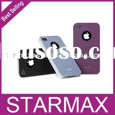 Snap On Slim Fit Moshi Hard Case Cover for iPhone 4G