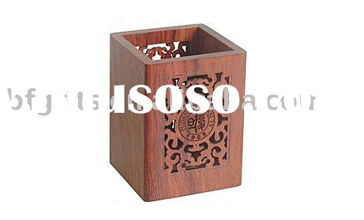 Wood Pencil Holder:BF08203
