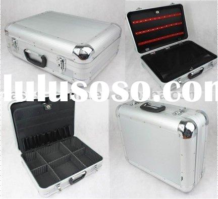 aluminum tool case with tool palette
