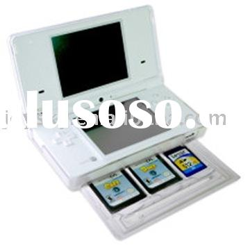 cases for NDSi,Cystal Case with card case,game accessories