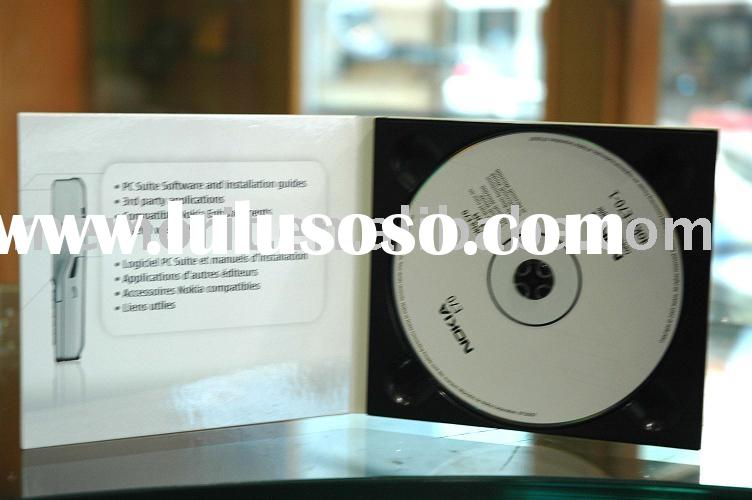 cd/dvd with digipack