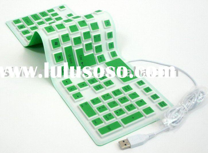 computer flexible silicone keyboard
