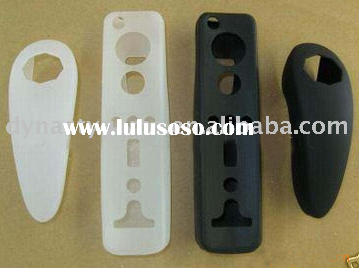 for  WII Box Packing remote and nunchuck Silicon Skin case For Controller gamepad