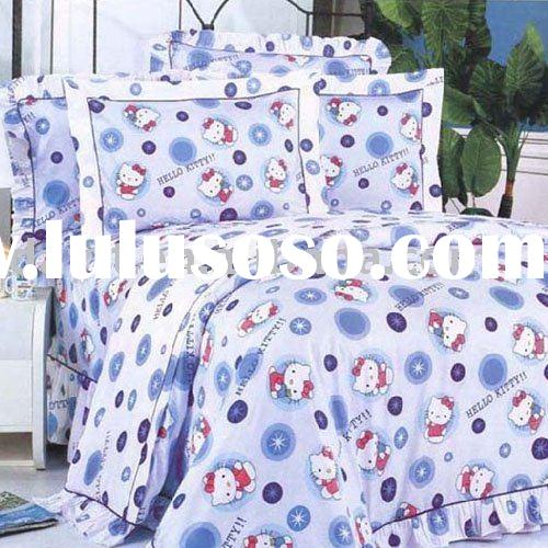 Hello Kitty Bedding Set For Kids D059 On Sale Wholesale Drop Shipping For Sale Price China