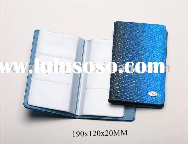 high quality for leather business name card book