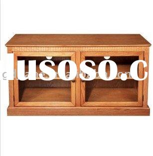 large wood TV Stand