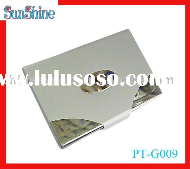 metal business card case,stainless steel card holder