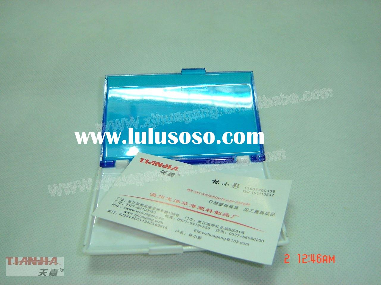 plastic business card holders