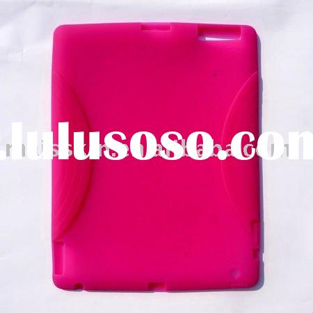 silicon case for ipad2 HOT Pink