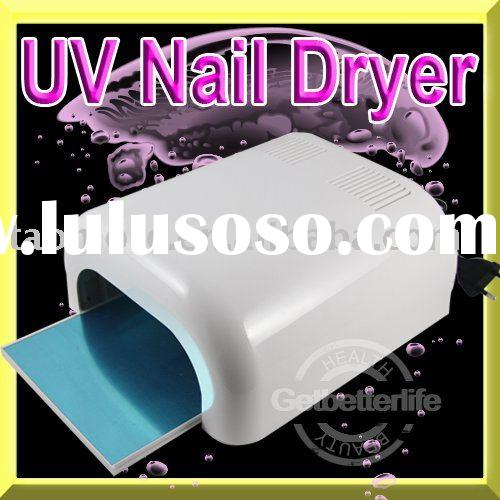 36W Pro Gel Acrylic Curing UV Lamp Nail Dryer File Set with CE(take in and out)