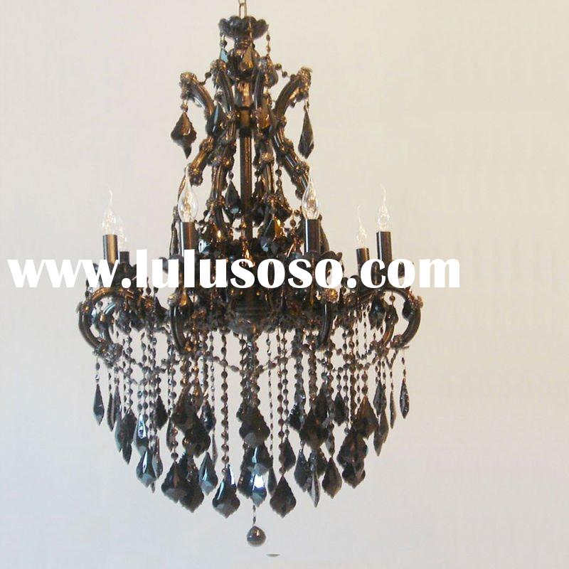 Antique Crystal Lamp