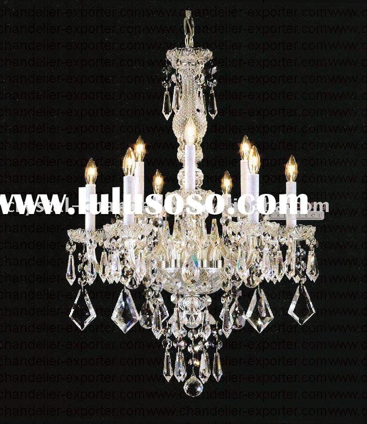 Bohemian Crystal Chandelier Vintage Collection 6+3 Lights