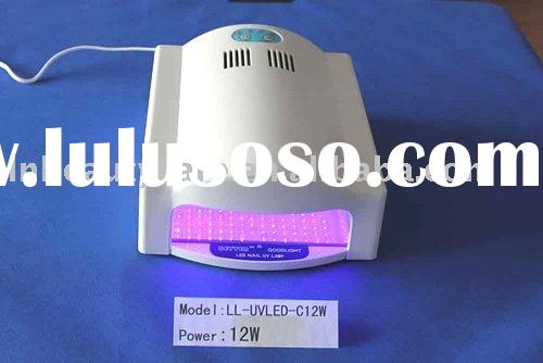 LL-UVLED-C12W LED nail gel curing uv lamp & automatic open