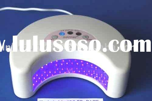 LL-UVLED-D12W LED nail uv lamp & quick dry in 10s-30s & long life in 35000-50000h