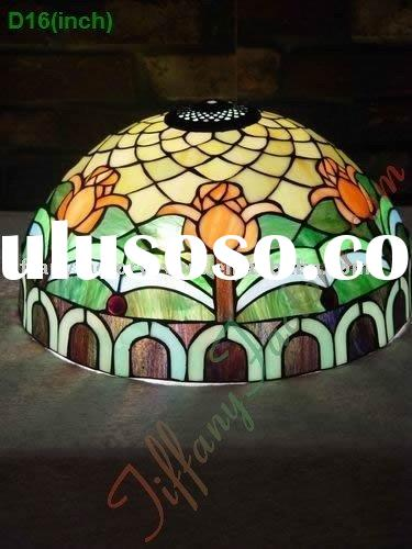 Tiffany Stained Glass Lamp Shade-LS16T000335