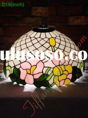 Tiffany Stained Glass Lamp Shade-LS19T000017