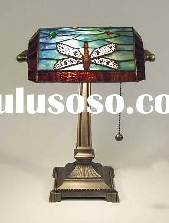 Tiffany dragonfly lamp ,Bankers Lamp(TF-1911D)