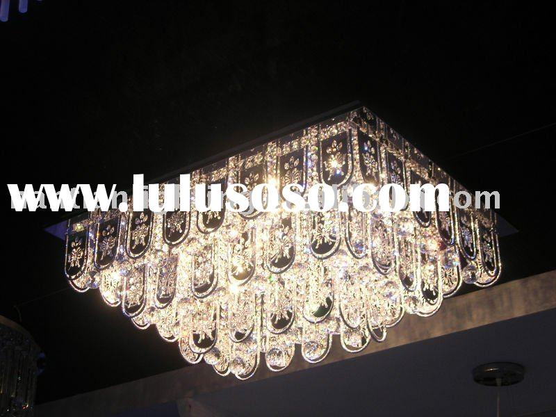 crystal ceiling LED lamp