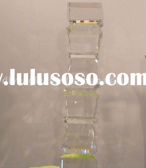 decorative glass table bases
