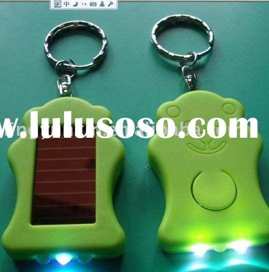 portable mini led solar money detector