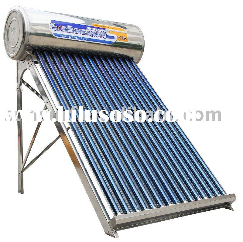 DIY solar water heating system  ( CE,ISO )