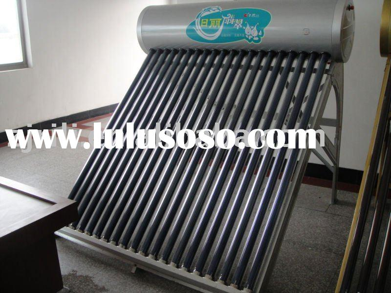 high quality,competitive price non-ppressure  solar water heater