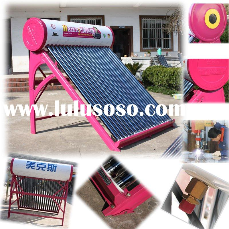 solar water heater cost
