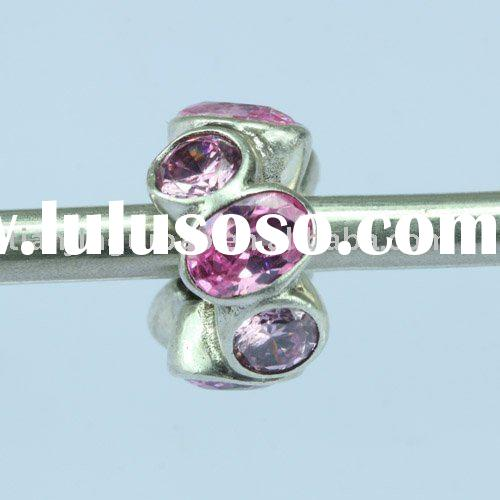 2010 new 925 sterling silver gemstone pandora charms