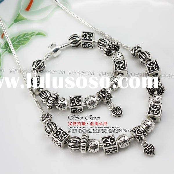 2011 fashion & costume jewelry sets PA0075 African style made of jewelry findings and beads