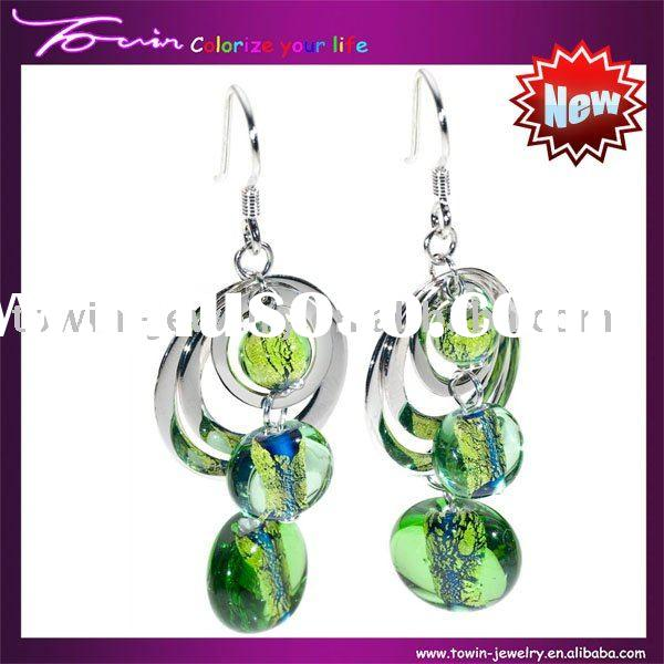 2011 hot sale fashion sterling silver earring