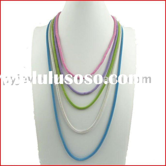 2011trendy fashion newest wholesale alloy cheap  necklaces jewellery