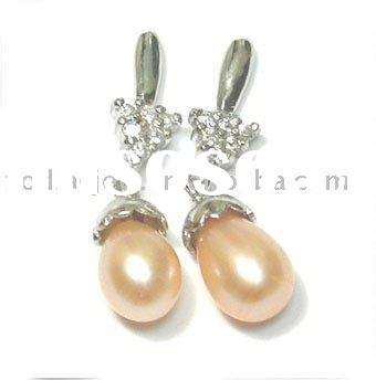 925 sterling silver Imitation Jewelry earring