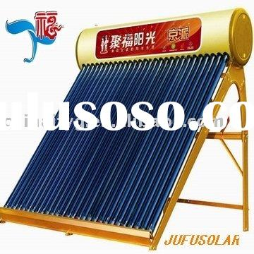 China Solar water heater manufacturer vacuum tube solar water heater