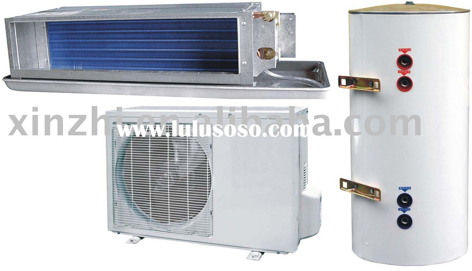 Duct Air Conditioner With Heat Recovery Water Heater