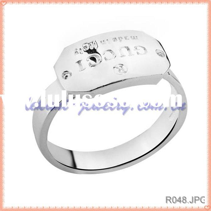 Fashion jewelery silver ring