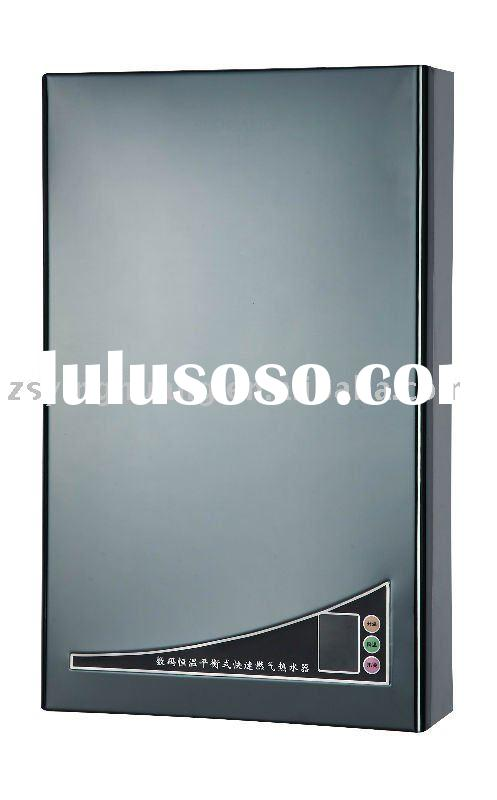 Household instant forced exhaust gas water heater SB662