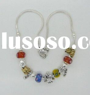 Italy Pandora 925 sterling silver necklace, alloy plating