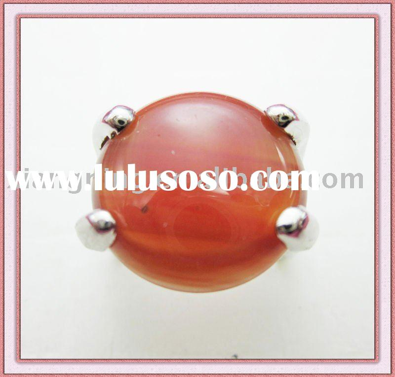 Natural stone ring cheap fashion jewelry