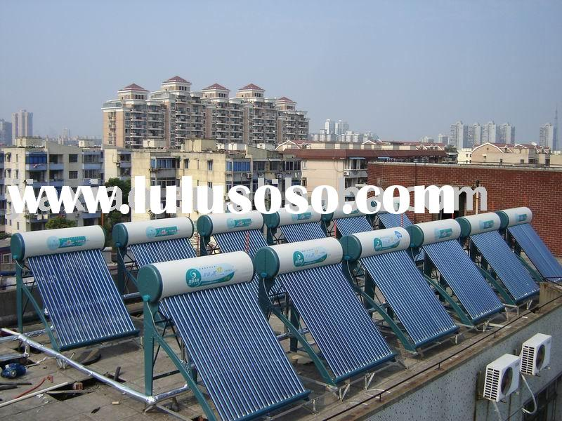 Solar water heater,Stainless Steel Solar Water Heater,pressurized solar water heater