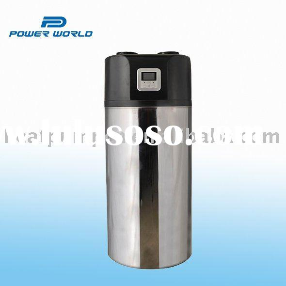 Stainless steel heat pump water heater for heating and hot water