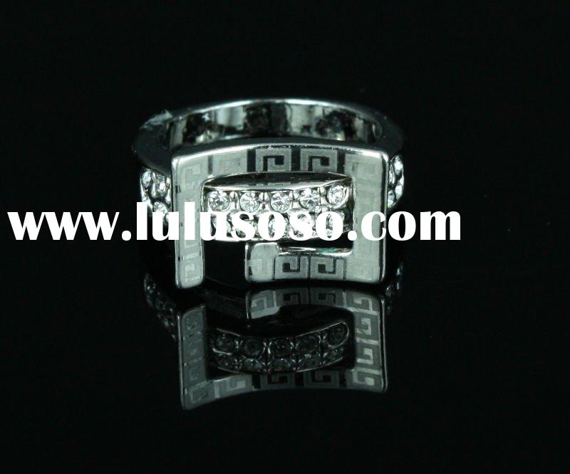 Stylish Silver Plated Ring