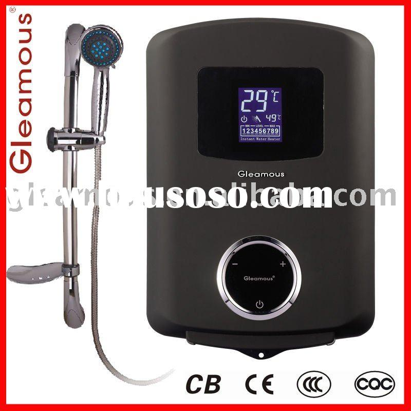 Thermostat instant electric water heater DSK-EV Black